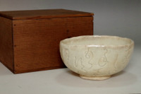 sale: Otagaki Rengetsu (1791-1875) Antique poem carving tea bowl