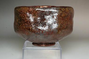 sale: Kato Sekishun (1870-1943) Antique Tatsuta-nishiki glaze tea bowl