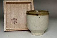 sale: Hamada Shoji Mongama Vintage mashiko ware tea cup