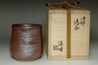 sale:  Kaneshige Michiaki (1909-1995) vintage bizen pottery cup