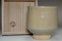 sale: Mongama (1931- ) Vintage tea bowl in mashiko ware