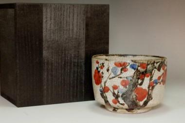 sale:  Ogata Kenzan (1663-1743) Antique tea bowl in Kyo ware
