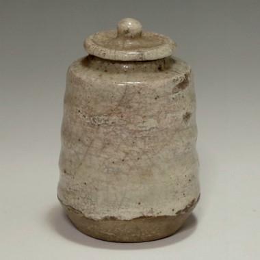 sale: KARATUS CHAIRE Antique Japanese Pottery Tea Caddy