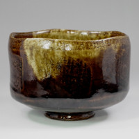 sale: RAKU CHAWAN Japanese Pottery Tea Bowl