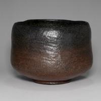 sale: RAKU CHAWAN Japanese Pottery Tea Bowl Signed