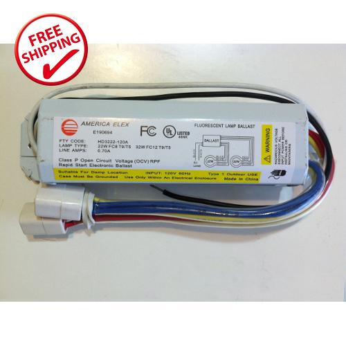 54 Watt Circline Fluorescent Electronic Ballast - Ilumina Lighting