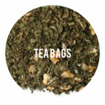 Organic Herbal Lemon Spearmint - 25 TEA BAGS