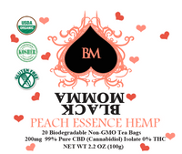 PEACH ESSENCE HEMP TEA