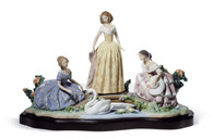 LLADRO DAYDREAMING BY THE POND (01008664 / 8664)
