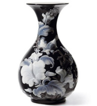 LLADRO SPARROWS VASE (BLACK) (01008726 / 8726)
