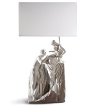 LLADRO FAMILY LAMP ( EU-US-UK-JAPAN) (01023465 / 23465 / 23466 / 23467 / 23468 )