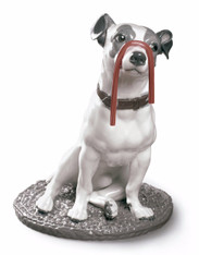 LLADRO JACK RUSSELL WITH LICORICE 01009192 (01009192 / 9192)