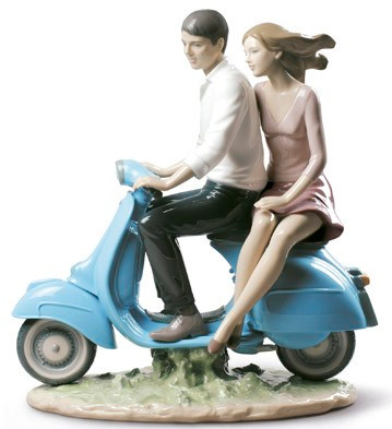 LLADRO RIDING WITH YOU 01009231 / 9231