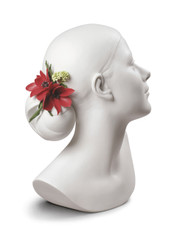 LLADRO LILY WITH FLOWERS 01009253 / 9253