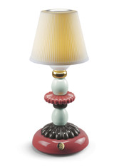 LLADRO LOTUS FIREFLY LAMP (GOLDEN FALL) 01023792 / 23792