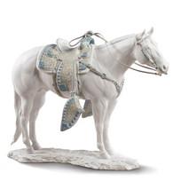 Lladro WHITE QUARTER HORSE 01009273 / 9273