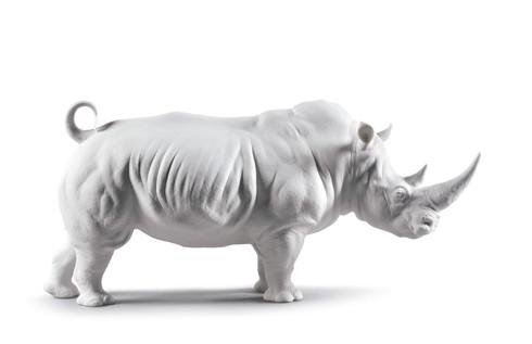 White Rhino Figurine. Matt 01009116 / 9116 (3785901009116) (view)