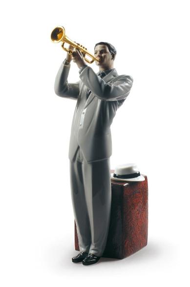 Jazz trumpeter 01009329