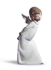 Curious Angel Figurine 01004960