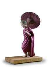 LLADRO Sun Path Figurine. Buddha 01012556