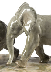 Following The Path Elephants Sculpture Lladro 01009390