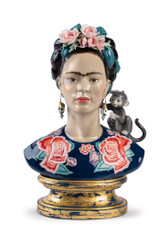 Frida Kahlo Figurine. Blue. Limited Edition  010020236  / 2026