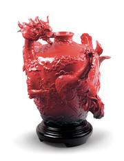 Dragon and Phoenix Vase  01009289