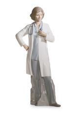 LLADRO FEMALE DOCTOR