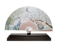 LLADRO Iris and Cherry Flowers Fan (01001936 / 1936)