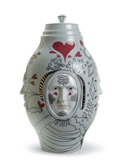 LLADRO SMALL CONVERSATION VASE (01007597 / 7597)
