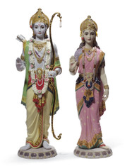 LLADRO RAMA AND SITA (01001963 / 1963)