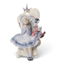 LLADRO Alice in Wonderland Privilege Gold Exclusive (01008350 / 8350)