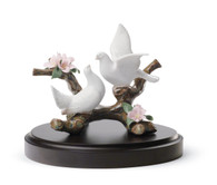 LLADRO Doves on a Cherry Tree (01008422 / 8422)