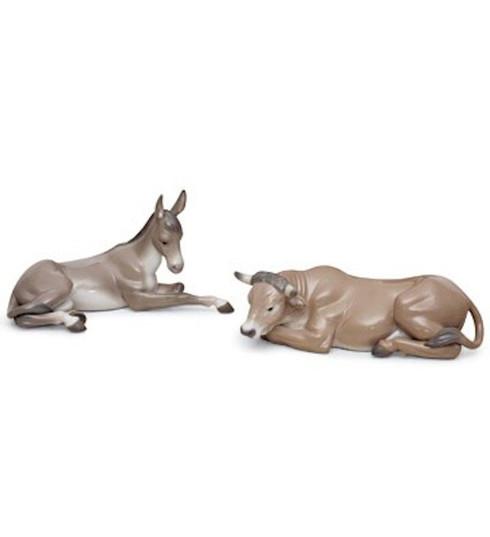 LLADRO SET ANIMALS AT BETHLEHEM (PORCELAIN) (01007810 / 7810)