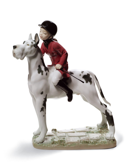 LLADRO GIDDY UP DOGGY (01008523 / 8523)