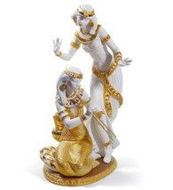 LLADRO DANCERS FROM THE NILE (GOLDEN RE-DECO) (01008591 / 8591)