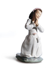 LLADRO COMMUNION PRAYER (GIRL) (01006089 / 6089)
