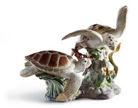 LLADRO SEA TURTLES (01006953 / 6953)