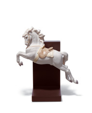 LLADRO HORSE ON PIROUETTE (01018253 / 18253)
