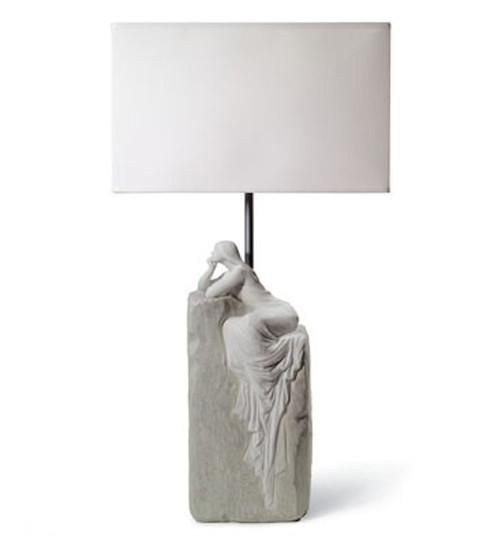 LLADRO MEDITATING WOMAN LAMP II (UE-US-UK-JAPAN) (01008552 / 8552 / 8554 / 8556 / 8558)