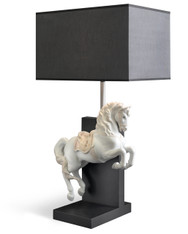 LLADRO HORSE ON COURBETTE - LAMP (UE-US-UK-JAPAN) (01023064 / 23064 / 23065 / 23066 / 23067 )