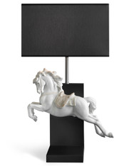 LLADRO HORSE ON PIROUETTE - LAMP (UE-US-UK-JAPAN) (01023060 / 23060 / 23061 / 23062 / 23063)