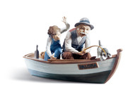 LLADRO FISHING WITH GRAMPS (01005215 / 5215)