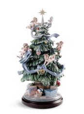 LLADRO GREAT CHRISTMAS TREE (01008477 / 8477 )