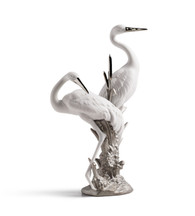 LLADRO COURTING CRANES (RE-DECO) (01007104 / 7104)
