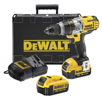 Dewalt DCD985M2 18V XR li-ion Premium 3-Speed XRP Combi Drill (2 x 4AH Batteries)