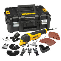 Dewalt DWE315KT Oscillating Multi-Tool in TStak Case with 37 Accessories