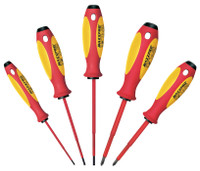 Witte 5 Piece Maxxpro VDE Insulated Screwdriver Set