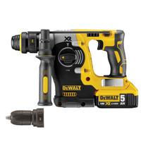 Dewalt DCH274P2 18V XR li-ion SDS Hammer Drill  (2 x 5AH + Chuck)