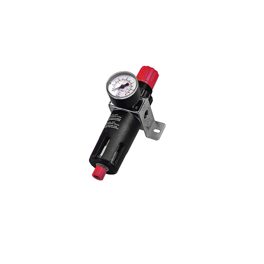 SIP 07526 Air Filter Regulator With Gauge - 1/4